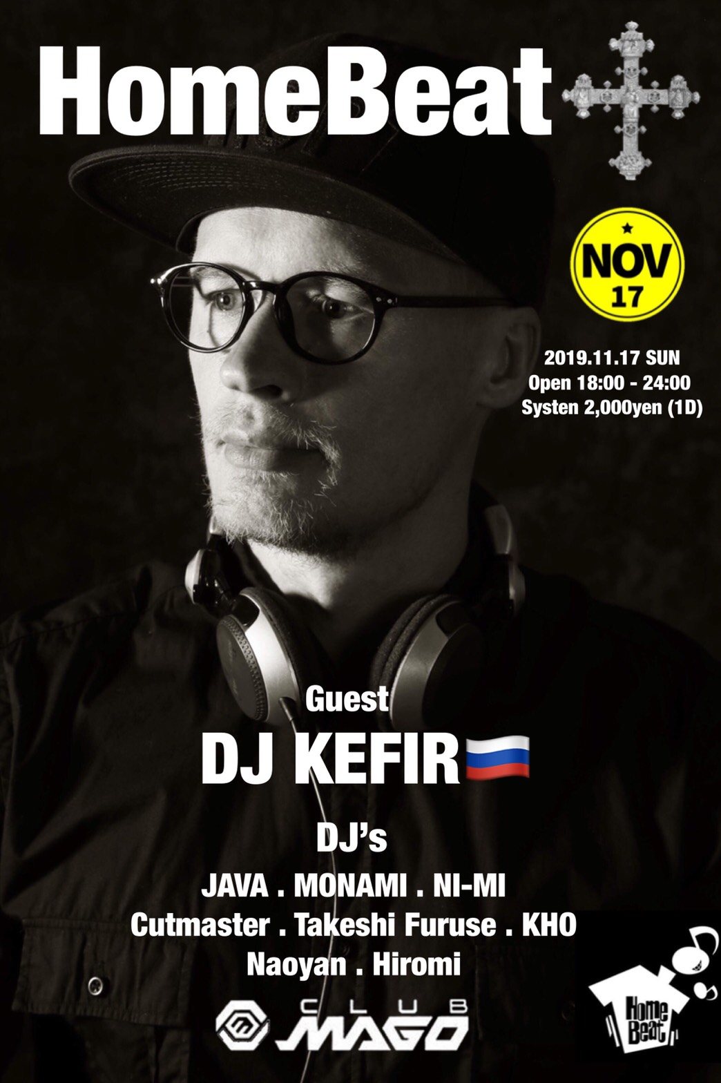 DJ KEFIR in MAGO House Music